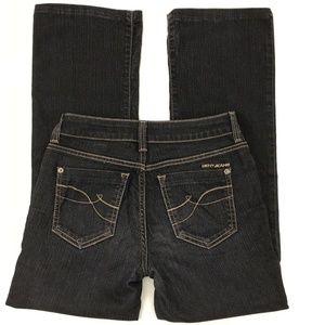 DKNY SOHO Jeans Womens Sz 2S/C Gray Wash Boot Cut